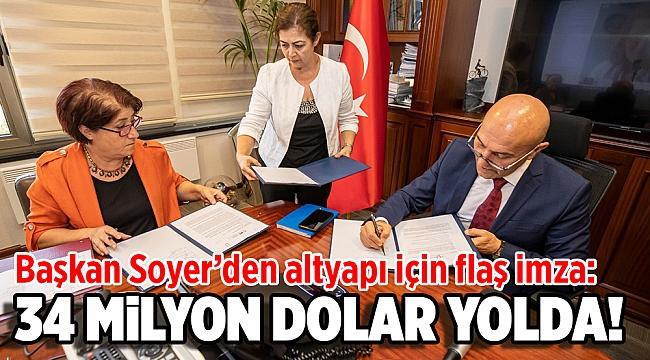 Kredi anlaşmasının yetki mektubu için imzalar atıldı