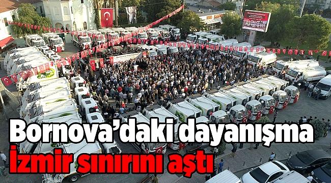 Bornova'da dayanışma İzmir sınırlarını aştı!