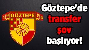 Göztepe'de transfer şov başlıyor!