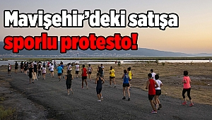 Mavişehir'deki satışa sporlu protesto!