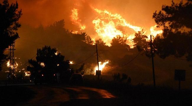 Menderes'teki orman yangınına neden olan piknikçi tutuklandı