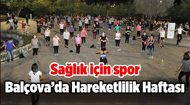 Balçova'da Hareketlilik Haftası