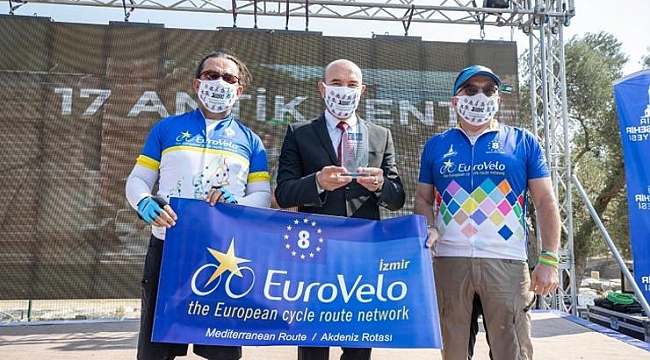 Başkan Soyer Euro Velo 8. Akdeniz Rotası İzmir Güzergahı'nı açtı