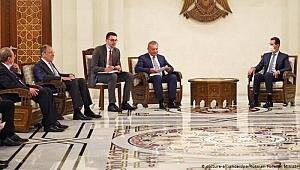 Lavrov ve Esad'dan Suriye ekonomisine destek çağrısı