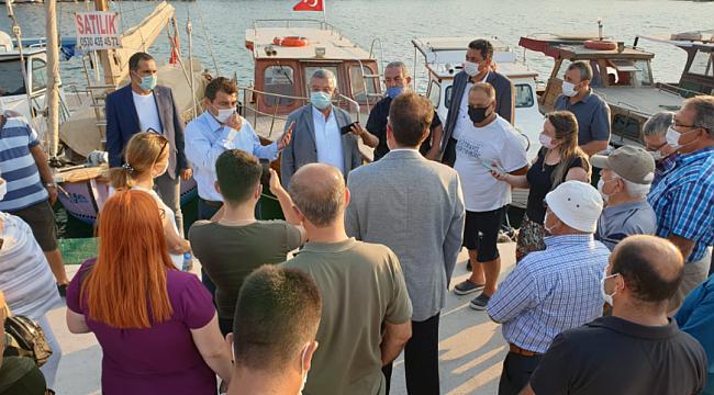 AK Parti İzmir Milletvekili Necip Nasır'danUrla'ya Yat Limanı Müjdesi