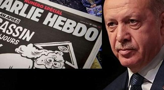 Charlie Hebdo'ya Türkiye'den sert tepki!