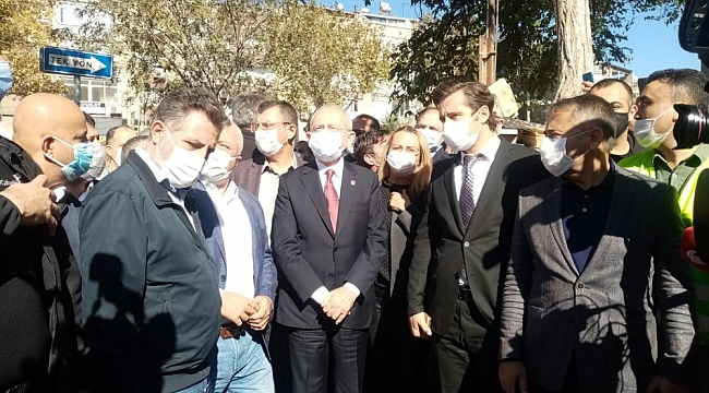 CHP lideri İzmir'e geldi