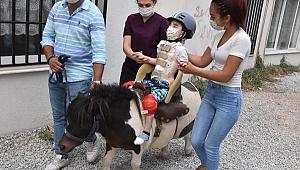 Ege, atla terapi sayesinde hayata dönüyor