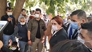 İYİ Parti lideri Akşener İzmir'e geldi