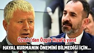 İzmir Büyükşehir Belediyesi Başkan Vekili Mustafa Özuslu'dan Özgür Hızal'a yanıt