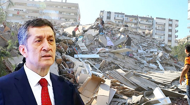 İzmir'de deprem nedeniyle eğitime bir hafta ara verildi