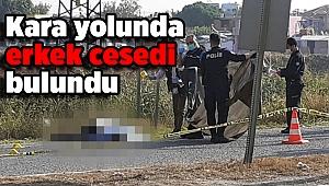 İzmir'de kara yolunda erkek cesedi bulundu