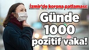İzmir'de korona patlaması: Günde 1000 pozitif vaka!