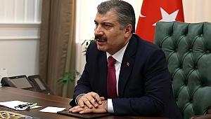 Sağlık Bakanı Fahrettin Koca'dan Ekrem İmamoğlu'na 'geçmiş olsun' paylaşımı
