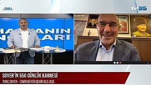 Soyer yerel muhalefete TV 35 ekranlarından yüklendi: