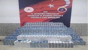 24 bin 70 paket kaçak sigara ele geçirildi: 8 gözaltı