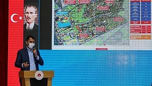 Bakan Kurum depremzedelere dönüşümü anlattı