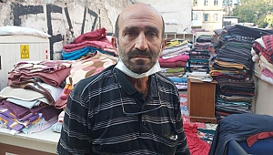 Depremzede battaniyelerini satan hurdacıdan şok savunma