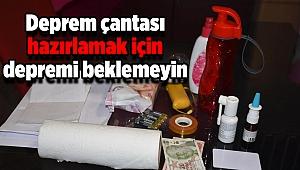 Dr. Rodoplu uyardı: Deprem çantası hazırlamak için depremi beklemeyin