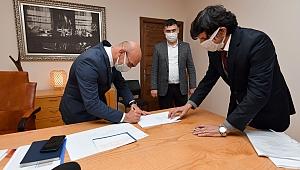 Ege Mahallesi'nin dönüşümü için imzalar atıldı