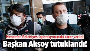 Tutuklanan Serdar Aksoy cezaevine gönderildi!