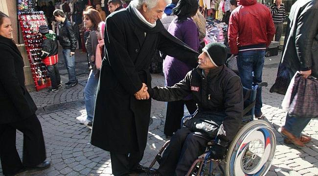 Erkek'ten 3 Aralık Dünya Engelliler Günü paylaşımı