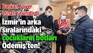 Ayakkabı sektörüne can suyu: İzmir'in arka sıralarındaki çocukların botları Ödemiş'ten!