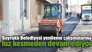Bayraklı'ya 1 yılda 90 bin ton asfalt, 35 bin metrekare kilit parke
