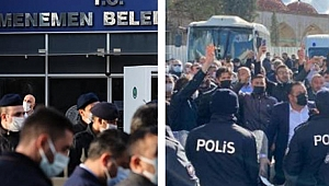 CHP'li belediye tekbir sesleri ile AK Parti'ye teslim edildi