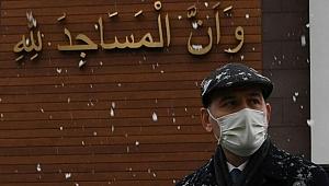 İçişleri Bakanı Soylu'dan 'karda yürüyüş' fotoğrafları