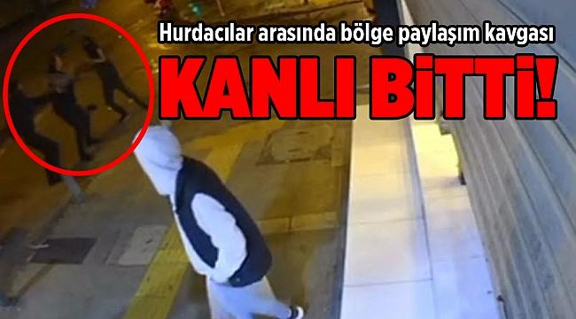 İzmir'de hurdacılar arasında bölge paylaşım kavgası