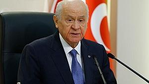 MHP lideri Bahçeli adaylığını açıkladı!