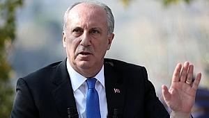 Muharrem İnce'den CHP'ye sert eleştiriler