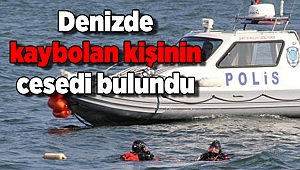 İzmir'de denizde kaybolan kişinin cesedi bulundu