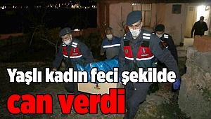 İzmir'de yaşlı kadın feci şekilde can verdi