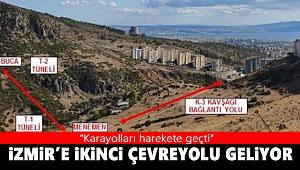 İzmir'in 2'nci Çevreyolu için Karayolları harekete geçti