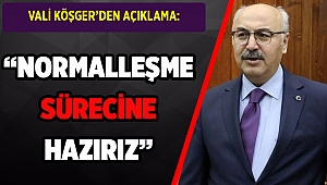 Vali Köşger 'vaka sayısı 200'e indi' dedi ve ekledi: İzmir normalleşmeye hazır!