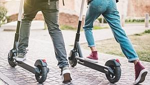 E-scooter yönetmeliği Resmi Gazete'de