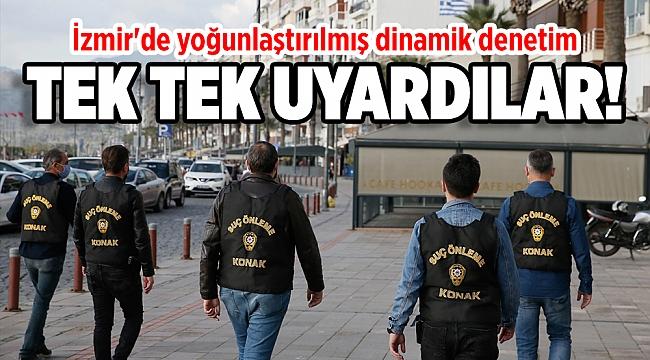 İzmir'de sokağa çıkma kısıtlaması kapsamında