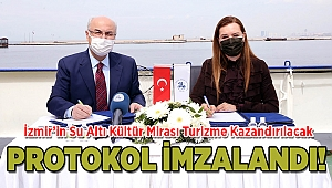 İzmir'in Su Altı Kültür Mirası Turizme Kazandırılacak
