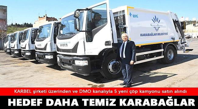 Karabağlar Belediyesi temizlik filosuna güç kattı