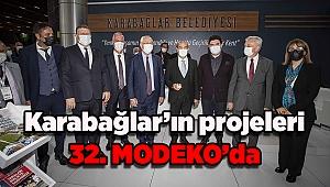 Karabağlar'ın projeleri 32. MODEKO'da