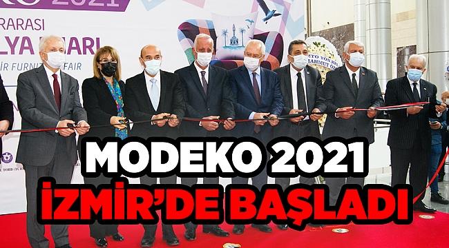 MODEKO 2021 İZMİR'DE BAŞLADI