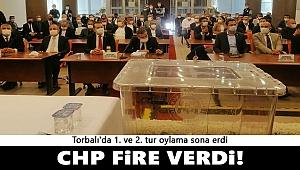 CHP Torbalı seçimlerinde fire verdi