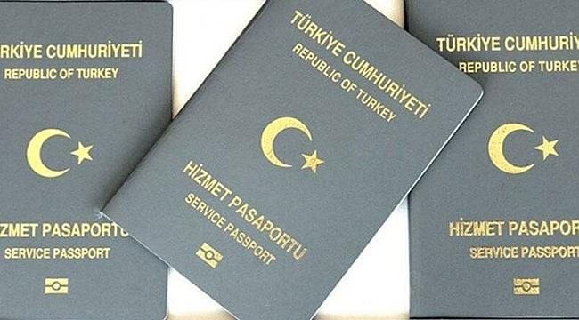 Bakanlıktan 'gri pasaport' genelgesi