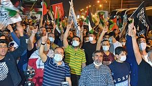 Birçok ilde İsrail'in Filistinlilere yönelik saldırıları protesto edildi
