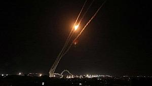 İsrail savaş uçakları yoğun şekilde Gazze'nin kuzeyini bombaladı