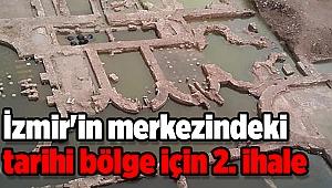 İzmir'in merkezindeki tarihi bölge için 2. ihale