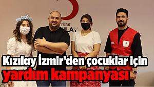 Kızılay İzmir'den çocuklar için yardım kampanyası