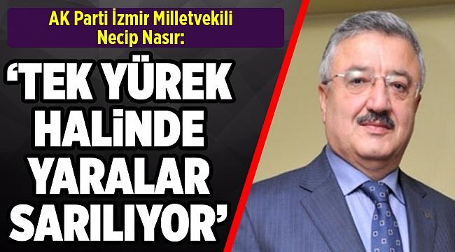 AK Parti'li Nasır'dan, CHP'li Sındır'ın deprem konutlarına ilişkin eleştirilerine tepki